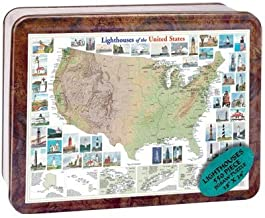 product image for Puzzle Tin Lighthouse Jigsaw Puzzle 550pc by Channel Craft