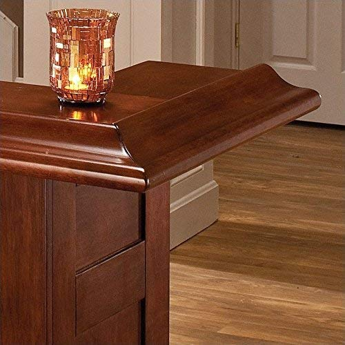 Hillsdale Furniture Hillsdale Classic Bar, Large, Brown Cherry,