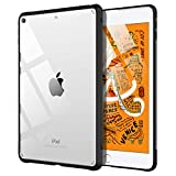 TiMOVO Case fit New iPad Mini 5th Generation 2019, Premium Ultra Slim Lightweight Shock Absorbant Flexible TPU Air-Pillow Edge Protective Clear Case fit iPad Mini 5 2019 - Black