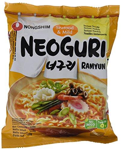 Nongshim Fideos Instantáneos Neoguri Suave 20x120gr