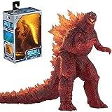 18Cm Anime Figur 2019 Godzilla King of The Monsters Burning Godzilla Umgebende Action-Figuren Dinosaurier Sammler Modell Statue Spielzeug