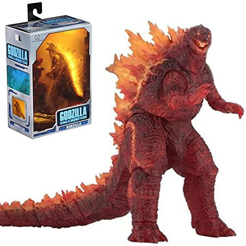 18 Cm Anime Figure 2019 Godzilla King Of The Monsters Burning Godzilla Action Figures Dinosauro Modello da collezione Statua Giocattoli