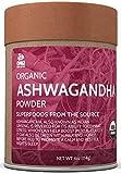 OMG! Superfoods Organic Ashwagandha Powder - 100% Pure, USDA Certified Organic Ashwagandha Powder - 4oz
