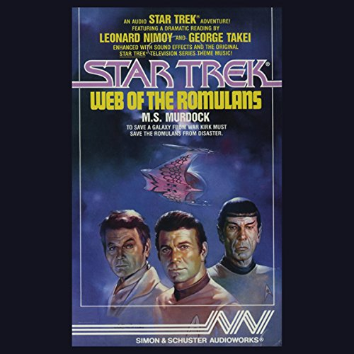 Star Trek: Web of the Romulans (Adapted) audiobook cover art
