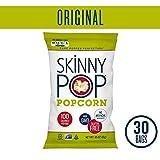 SKINNYPOP Original Popped Popcorn, 100 Calorie Bags, Individual Bags, Gluten Free Popcorn, Non-GMO,...