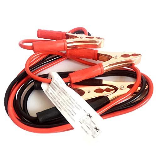 Cable de salto de batería de coches 2.2 metros 1000A Cable de alimentación de potencia Batería de emergencia Alambres de salto de batería Teleférico Accesorios para automóviles (Color : White)