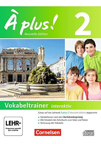 À plus ! - Nouvelle édition: Vokabeltrainer auf CD-ROM - Band 2