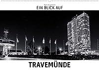 Ein Blick auf Travemuende (Wandkalender 2022 DIN A2 quer): Ein ungewohnter Blick auf Luebeck-Travemuende in harten Schwarz-Weiss-Bildern. (Monatskalender, 14 Seiten )