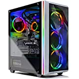 SkyTech Chronos Gaming Computer PC Desktop – Ryzen 9 3900X 12-Core 3.8 GHz, NVIDIA GeForce RTX 2070 Super 8G, 1TB NVME, 16G Trident Z Neo 3600, ARGB, 360mm AIO, AC WiFi, Windows 10 Home 64-bit