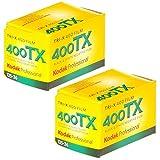Kodak 8667073 Tri-X 400TX, Schwarz-Weiß-Druckfolie, 35 mm, 36 Aufnahmen, 2 Stück