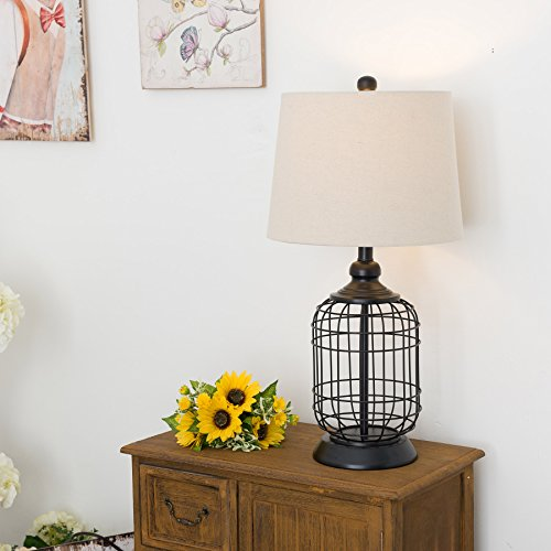 14 Best Farmhouse Table Lamps Right Now
