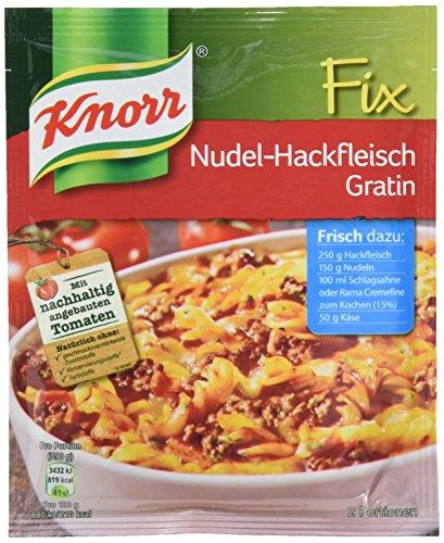 Knorr Fix Nudel-Hackfleisch Gratin 2 Portionen (1 x 36 g)