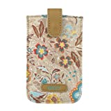 Oilily Summer Blossom Smartphone Pull Hülle Caramel