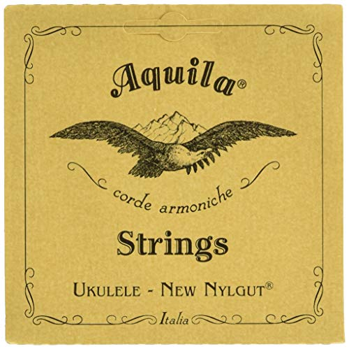 Aquila 6U - Cuerda para ukelele soprano, 4ª cuerda en Sol grave, un sola cuerda