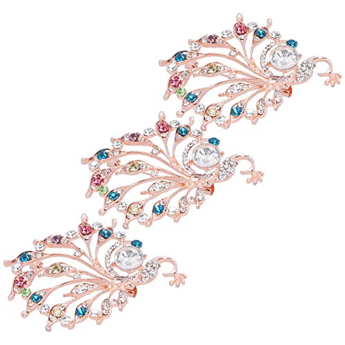 hong Clothing Brooch, Exquisite Brooch, Craft Decorations, for Weddings Party Girls Important Occasion(Seven colors)