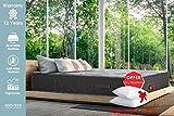Lisabed Flex – Pack Matelas_Offre Deux Oreillers - 160x200 módele Ito-Flex Viscoélastique Air/mousse mémoire de forme haute densité, Gamme Prestige Hotel, 27 cm.