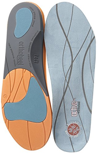 Orthaheel Active Men's / Women's Full Length Orthotics - Size Women's 6.5-8, Men's 5.5-7