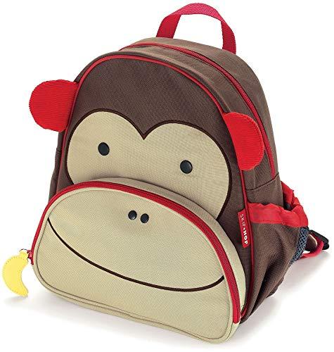 allrise Zoo Kleinkind Kids isoliert Rucksack für Kinder 2–6Jahren, 30,5, farbenreiche Mehrfarbig AFFE