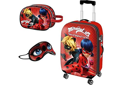 Prodigiosa - Ladybug Lady Bug Coleccion Viaje Maleta+Neceser
