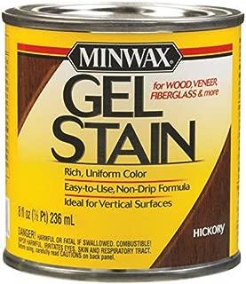 Minwax 26100 Oil-Based Gel Stain, 1/2 Pint, Hickory