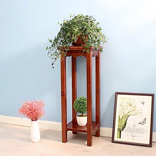 Théâtre végétal Plancher de fleur de plancher étagère à plusieurs étages pour balcon salon intérieur Idéal cadeau jardinier (taille : 80cm)