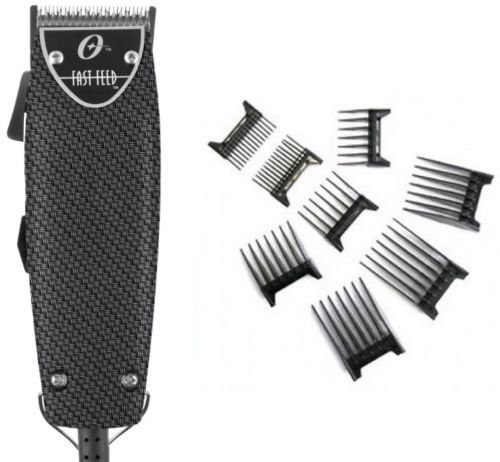 Oster Professional Carbon Fiber Fast Feed Professional Clipper with Free 8-pc Comb