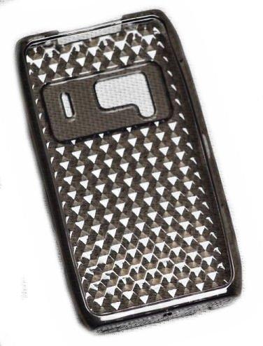 Silikon TPU Cover Case Handy Hülle Schale in Smoke - für Sony Ericsson Xperia Mini Pro SK17i
