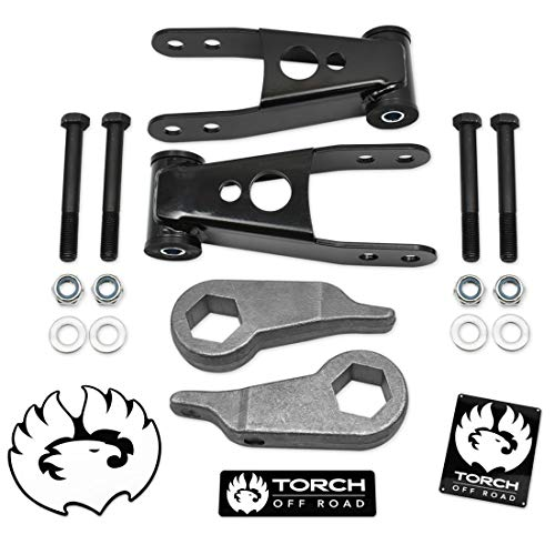 TORCH 3' Front 2' Rear Leveling Lift Kit compatible with 1998-2011 Ford Ranger...