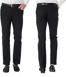 Men's Modern Fit Luxury Cotton Stretch Dress Pants - Albert