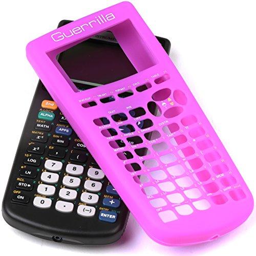 Guerrilla Silicone Case for Texas Instruments TI-83 Plus Graphing Calculator, Purple Photo #6