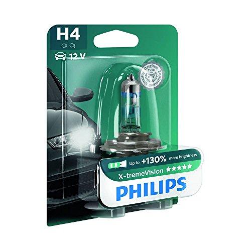 Philips 12342XVB1 X-treme Vision - Bombilla H4 para faros delanteros