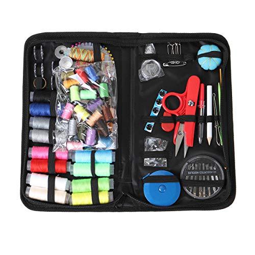 ARLT Viaje portátil Pequeño Kit de Costura Caja de Costura Caja de Aguja Tijera (Color : C)