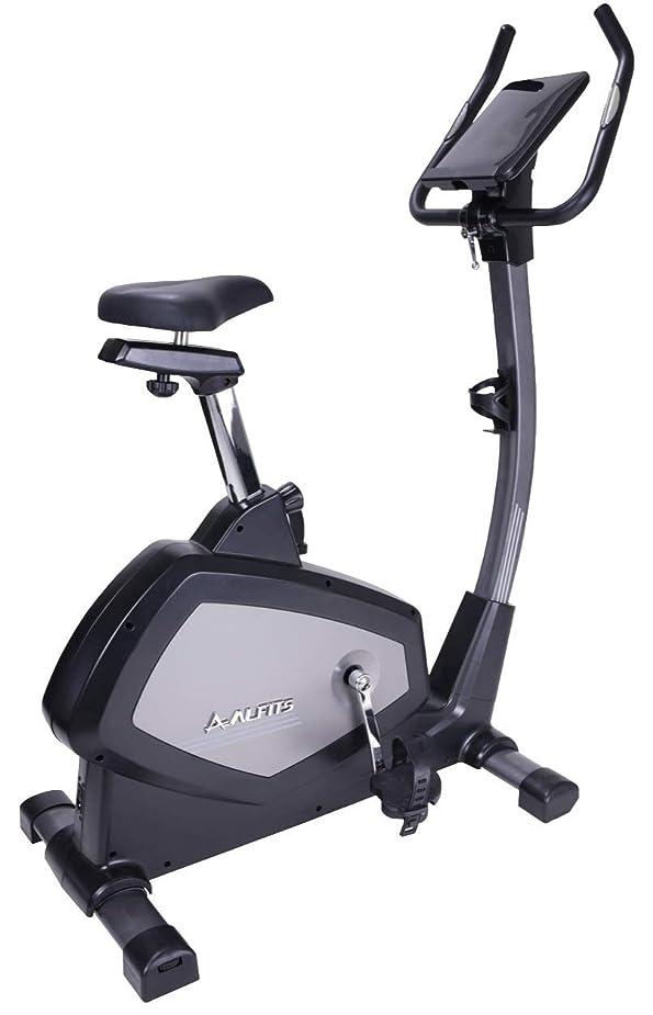 キルトバスラインナップALINCO(アルインコ) フィットネスバイク アドバンストバイク7218 電磁負荷方式 耐荷重135kg 12種プログラム付き スポーツクラブ運動が出来る AFB7218