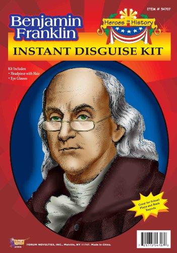 FORUM Benjamin Franklin Instant Disguise Kit