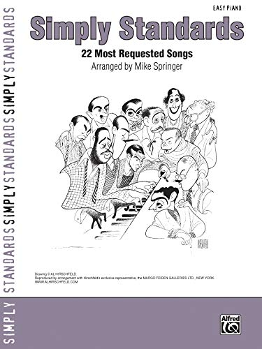 Simply Standards: 22 Most Requested Songs (Easy Piano) (Simply Series)