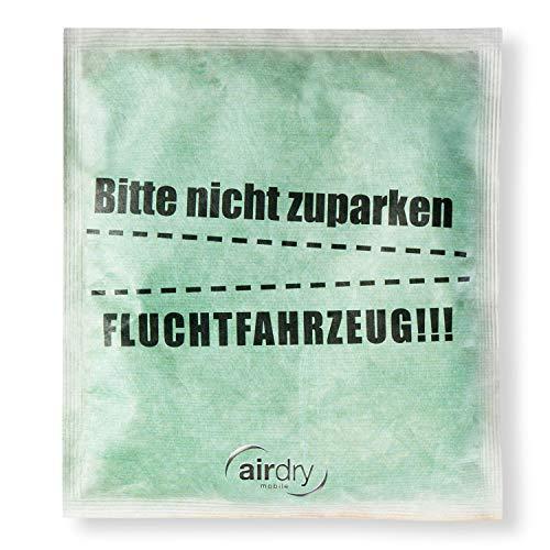 """Thomar 10971 airdry Fun Scheiben Auto-Entfeuchter mit Buntem Motiv """"Fluchtfahrzeug"""" sorgt für freie Sicht, Flucht"""