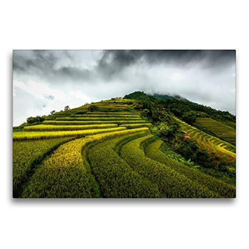 CALVENDO Premium Textil-Leinwand 75 x 50 cm Quer-Format Topas Ecolodge, Leinwanddruck von Joerg Gundlach