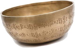 Bowl of Buddhist Chakra Meditation Yoga Tibetan Brass Singing Bowl Decorative Percussion Instrument