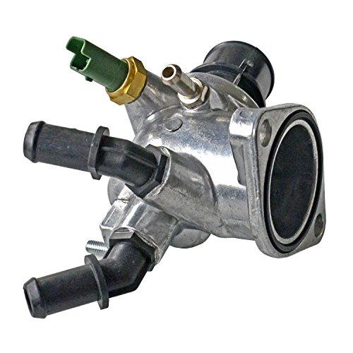 NSGMXT Carcasa de termostato con sensor para 1.9 CDTi 16V 55187784 55202510 55203388