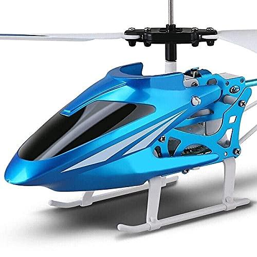Elicottero Drone, Telecomando Aereo Giocattolo Aereo Lampeggiante Stabile Facile Imparare Buon Funzionamento Ragazzo Aereo Giocattolo per Bambini età 6+ Nuovo Mini3.5CH MiniRadio Aereo