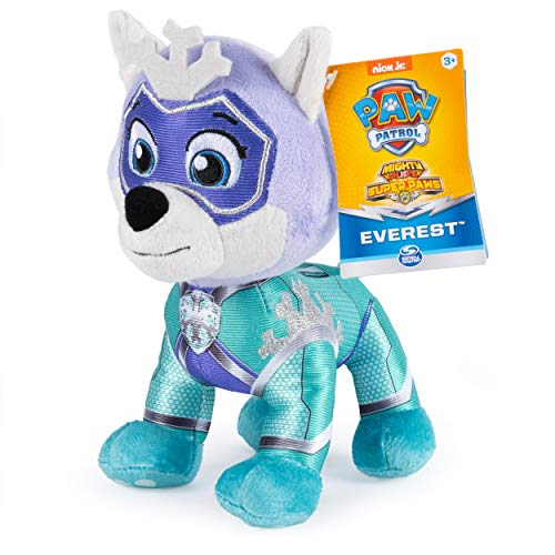 Paw Patrol Mighty Pups Super Paws Everest 8-Inch Plush