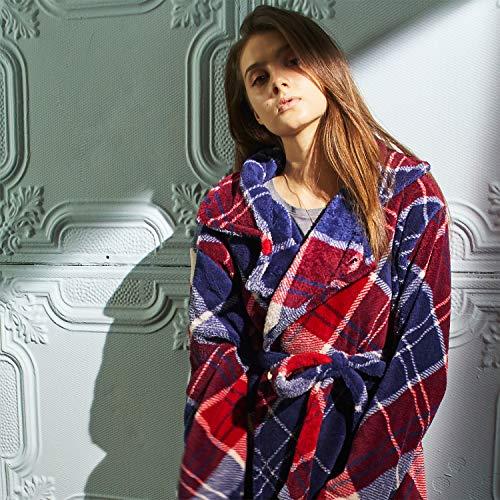 groonyグルーニー着る毛布ルームウェア着丈110cmユニバースチェック