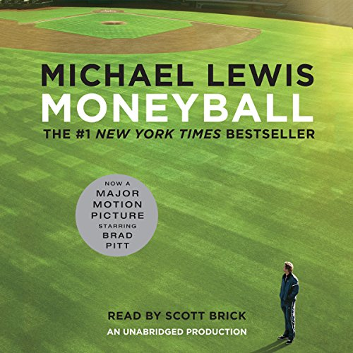 Moneyball audiobook cover art