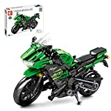 YIFAN Motorcycle Toy Building Blocks Model Kit, 862Pcs DIY Racing Motorcycle Building Kit for Kids Adults, Construction Toys for Boys Age 8-12