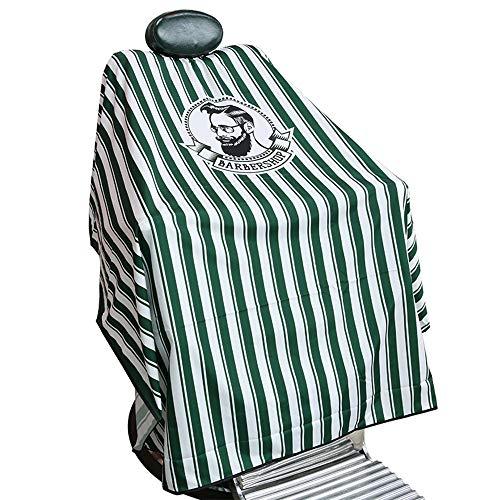 GAOYI Tuta da parrucchiere professionale impermeabile, facile da pulire, resistente all'acqua leggera, adatta per parrucchiere e negozi di bellezza (verde)