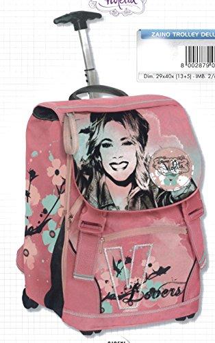 auguri preziosi 87451 sac à dos trolley deluxe violet 15 nt avec des gadgets