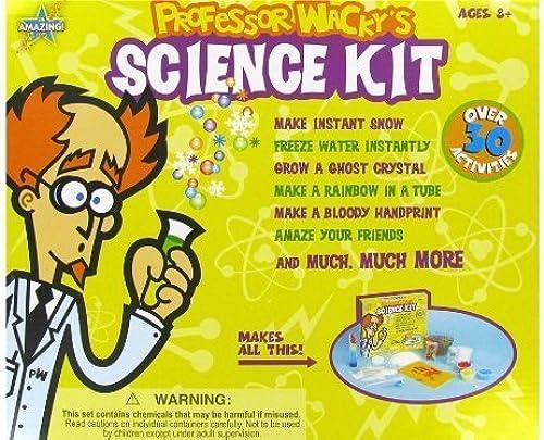 tomar hasta un 70% de descuento Professor Wacky's Science Kit by Be Amazing Amazing Amazing  marca