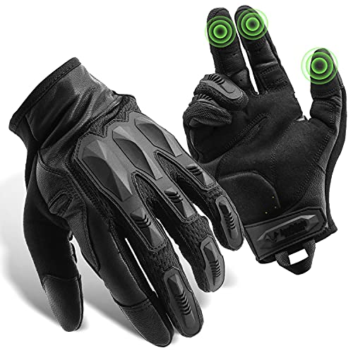 GRAMFIRE Tactical Gloves Paintball Gear Black Gloves Airsoft...