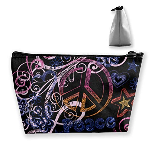 Watercolor Peace Butterfly Multifunction Travel Makeup Bags Shaving Kit Buggy Bag Organizers