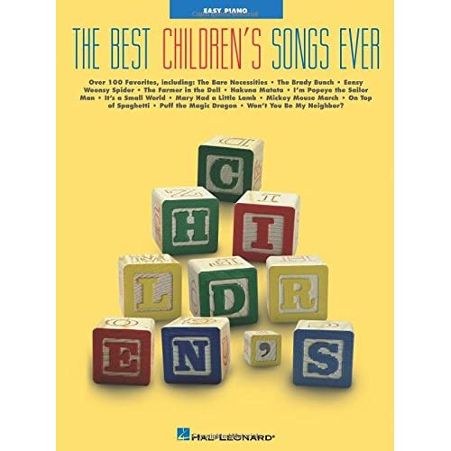 26661b11f5 Amazon.com  Best Children s Songs Ever (0073999103601)  Hal Leonard Corp.   Books